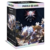 Kép 1/2 - Good Loot The Witcher Geralt & Triss in Battle 1000 darabos Puzzle