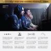 Kép 7/11 - SteelSeries Arctis 3 Console (2019 Edition) - Fekete (61511)