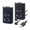 Kép 2/2 - Venom Twin Rechargeable Battery Pack Black