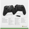 Kép 3/4 - Xbox Wireless Controller + Wireless Adapter for Windows 10 (Xbox Series) (1VA-00002)
