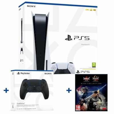 Sony PlayStation®5 (PS5) + Sony DualSense™ Wireless Controller + Nioh Collection játék