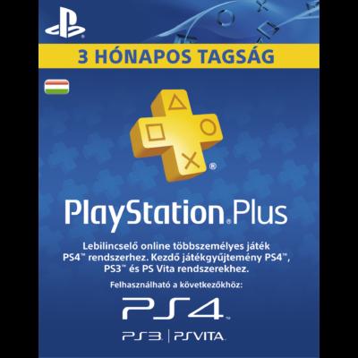 PlayStation Plus 90 napos előfizetés (HU)