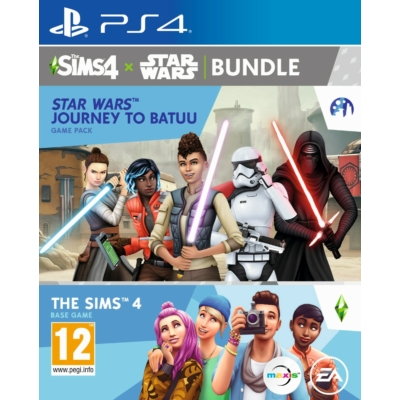 The Sims 4 + Star Wars Journey to Batuu (PS4)