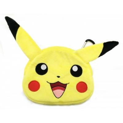 New 3DS XL Hori Hard Pouch Pikachu Black
