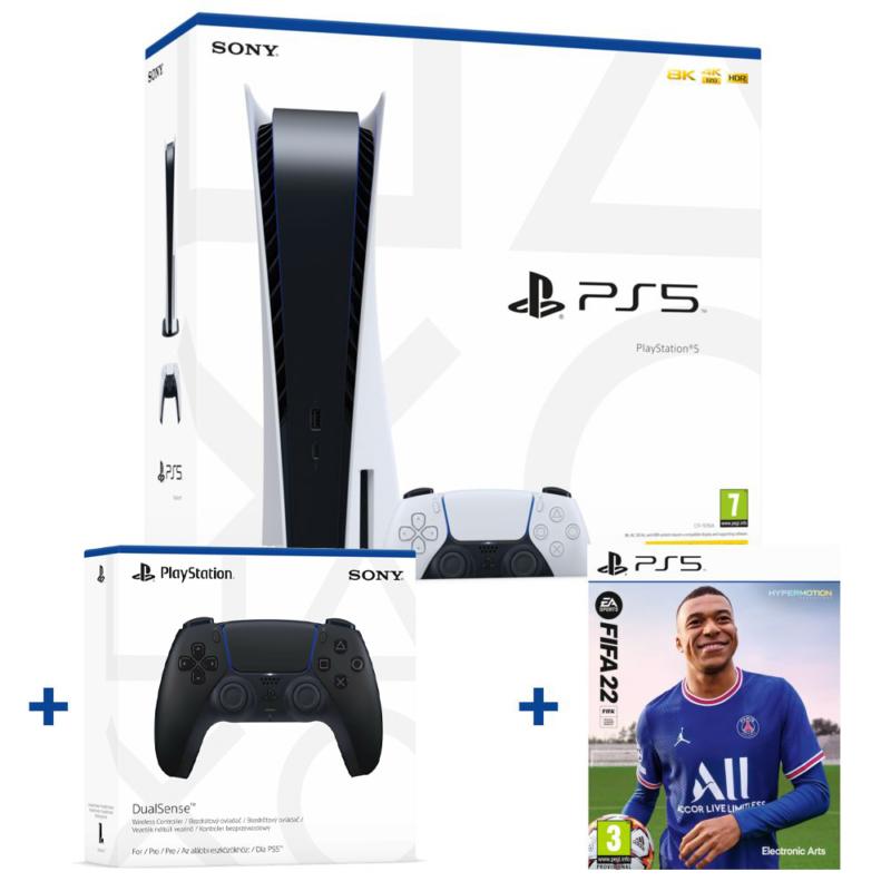 Sony PlayStation®5 (PS5)SONY PLAYSTATION®5 (PS5) + SONY DUALSENSE™ WIRELESS CONTROLLER