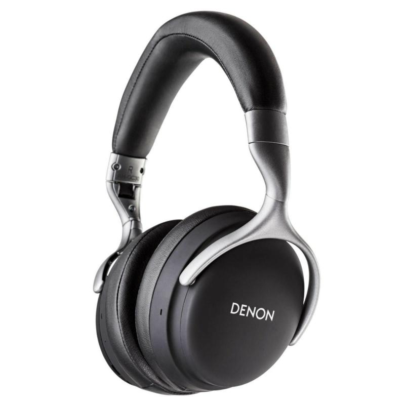 Denon AH-GC30 Bluetooth zajszűrős fejhallgató - Fekete