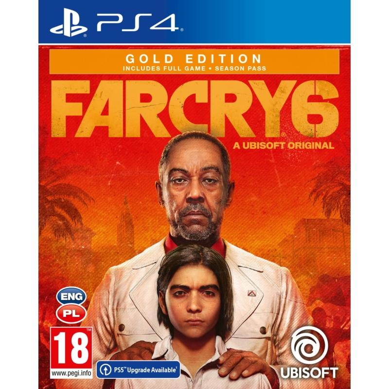 Far Cry 6 Gold Edition (PS4) + előrendelői ajándék