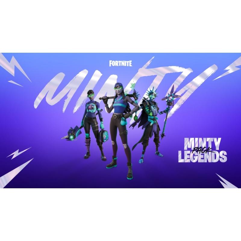 Fortnite: A Fortnite: Minty Legends Pack (PS4)