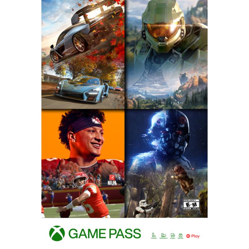 Microsoft XBOX Game Pass 3 hónapos előfizetés (fizikai kártya)