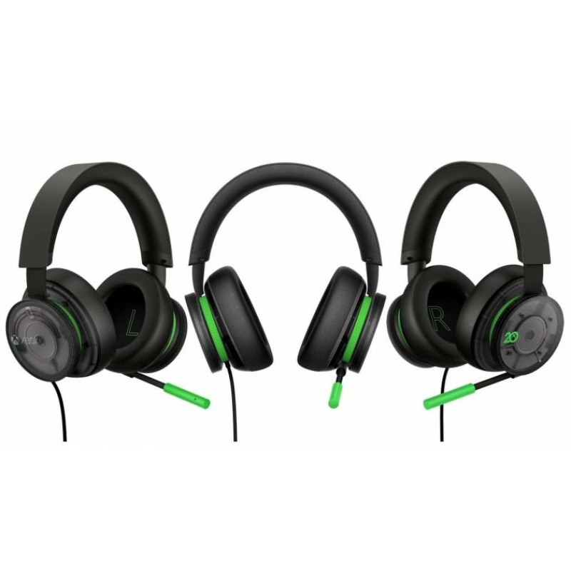 Xbox Wired Stereo Headset 20th Anniversary Special Edition