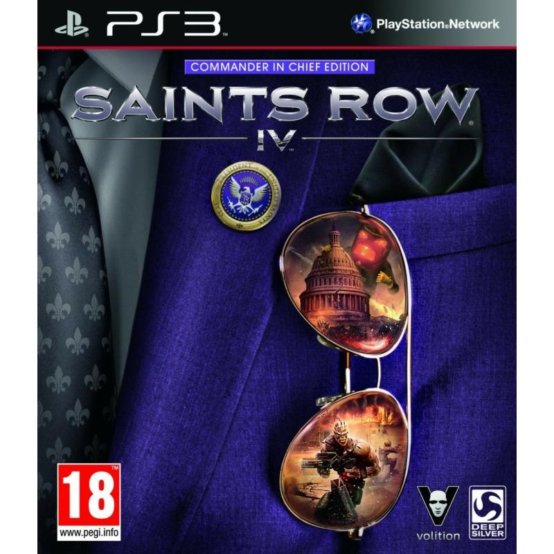 Saints Row 4 Commander in Chief Edition