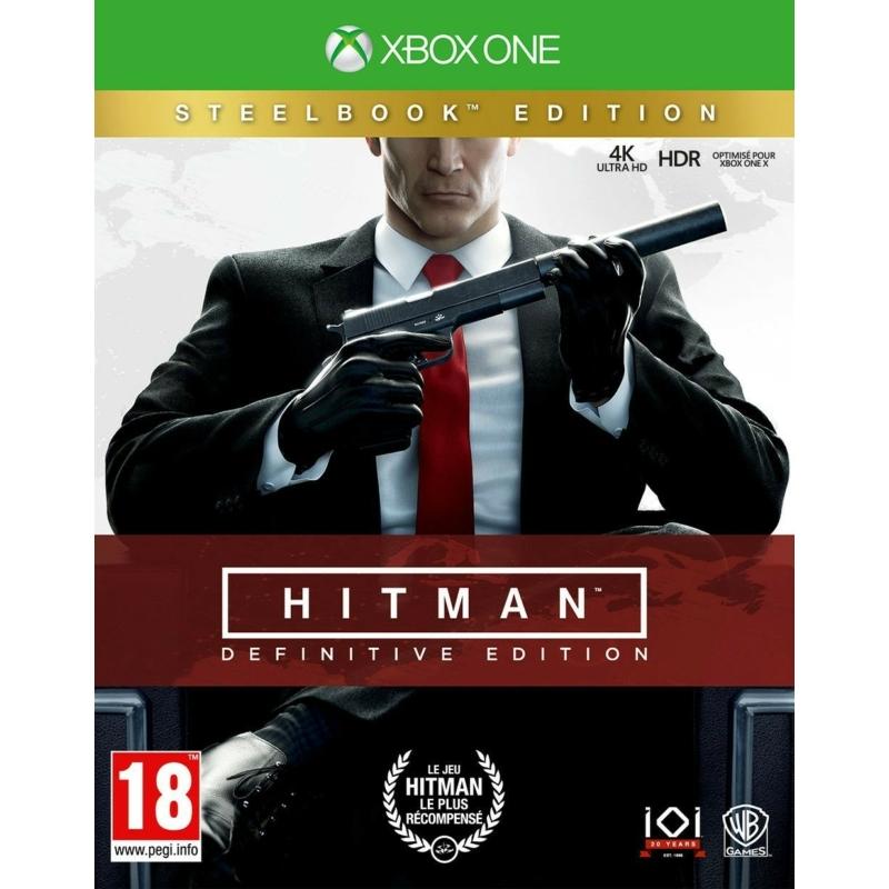 Hitman Definitive Edition (Xbox One) + Steelbook