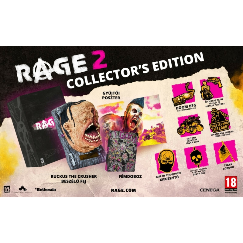 Rage 2 Collector's Edition (Xbox One)