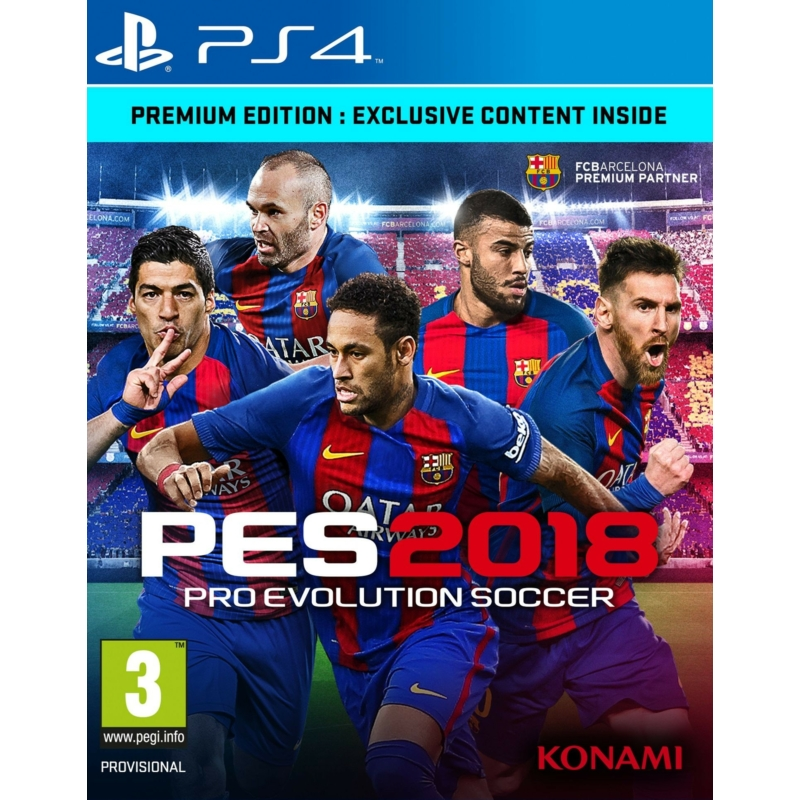 Pro Evolution Soccer 2018 Premium Edition (PES 2018)