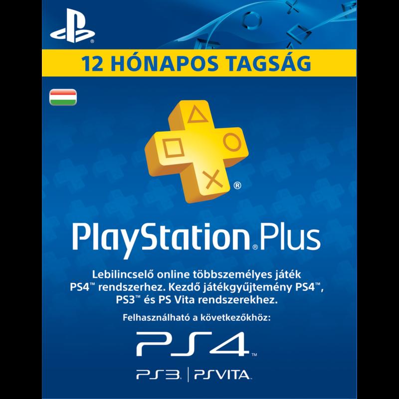 PlayStation Plus 365 napos előfizetés (HU)