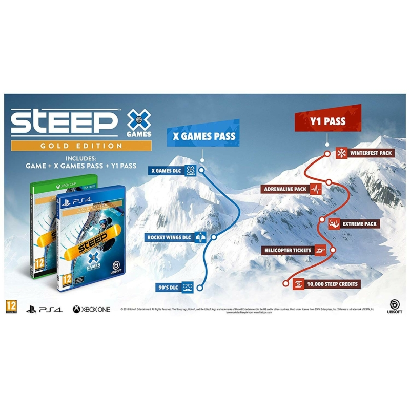 Steep X Games Gold Edition (Xbox One)