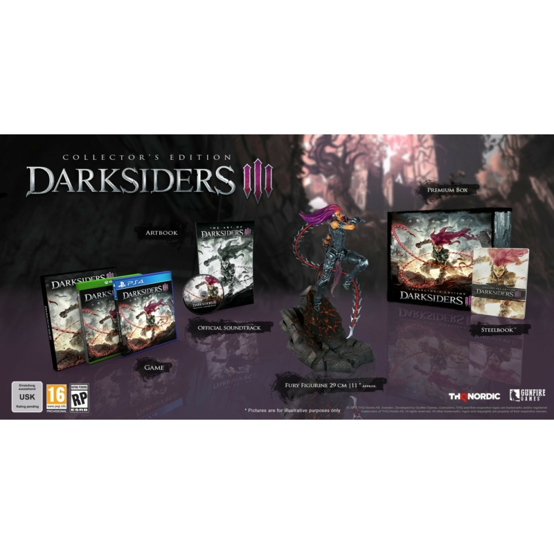 Darksiders III Collector's Edition (Xbox One)
