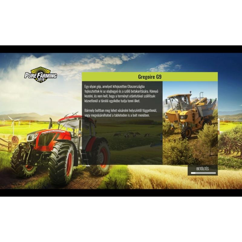 Pure Farming 2018 (PS4) Magyar nyelvű szoftver