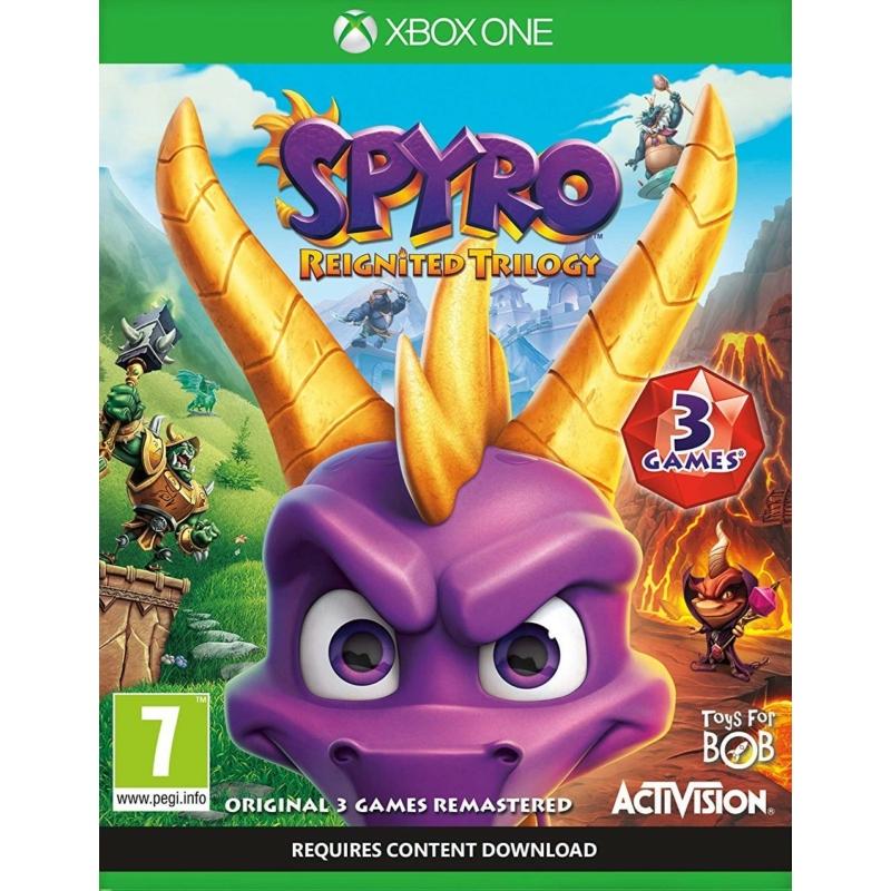 Spyro Reignited Trilogy (Xbox One) + Előrendelői ajándékok