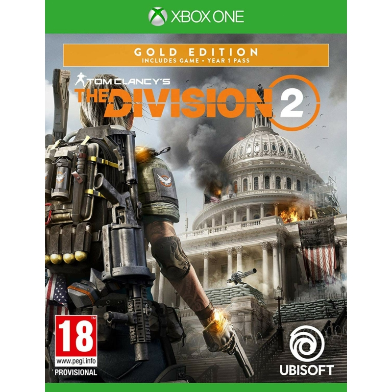 Tom Clancy's The Division 2 Gold Edition (Xbox One) + Ajándék