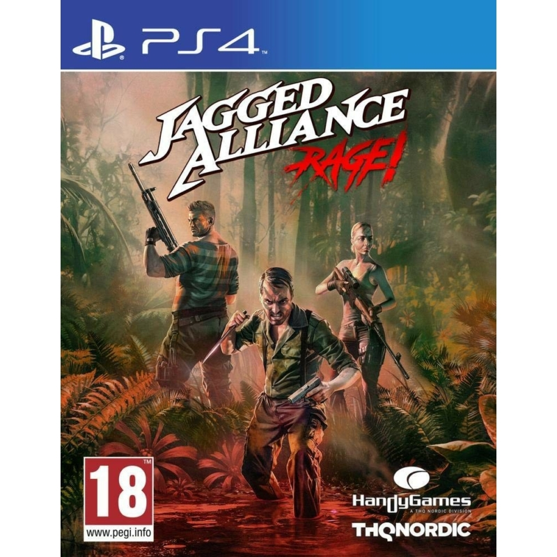 Jagged Alliance Rage! (PS4)