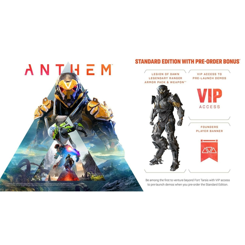 Anthem (Xbox One) + Előrendelői ajándék