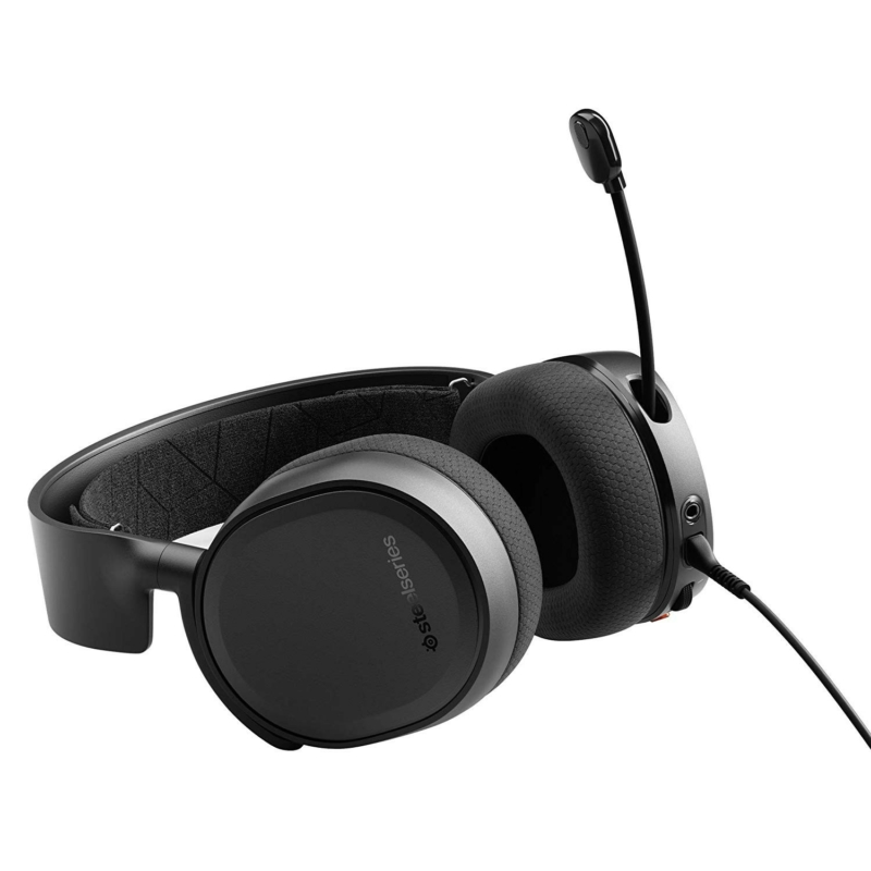 SteelSeries Arctis 3 Console (2019 Edition) - Fekete (61511)