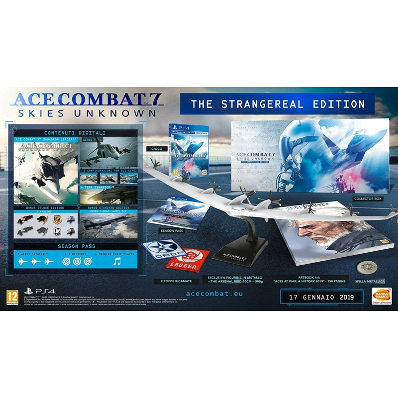 Ace Combat 7: Skies Unknown Strangereal Edition (PS4)