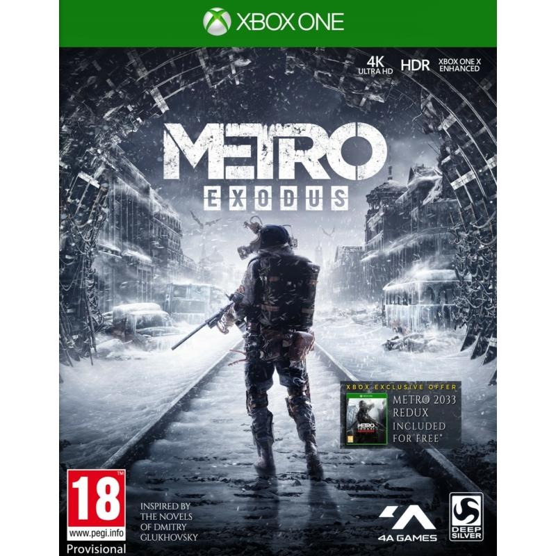 Metro Exodus (Xbox One) + Előrendelői ajándék