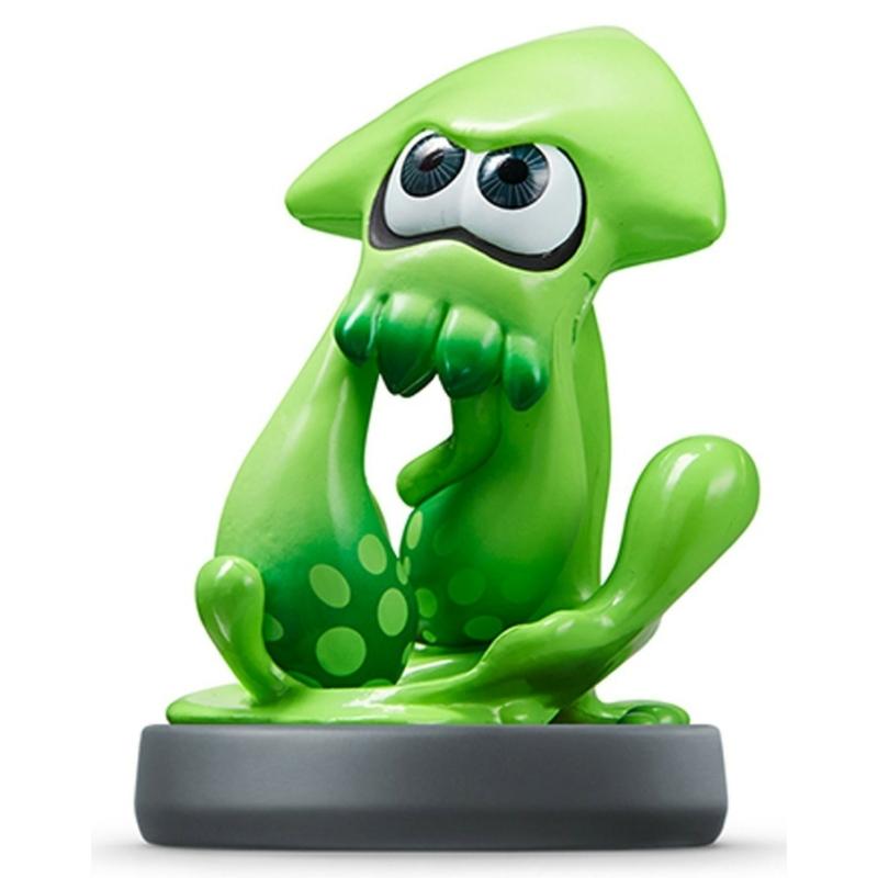 Amiibo Splatoon Inkling Squid kiegészítő figura