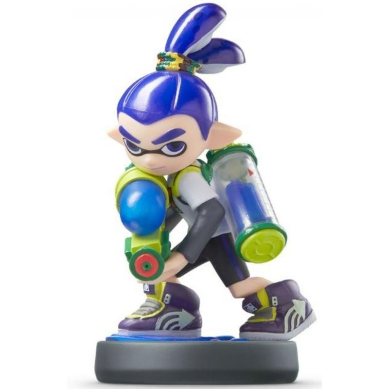 Amiibo Splatoon Boy kiegészítő figura
