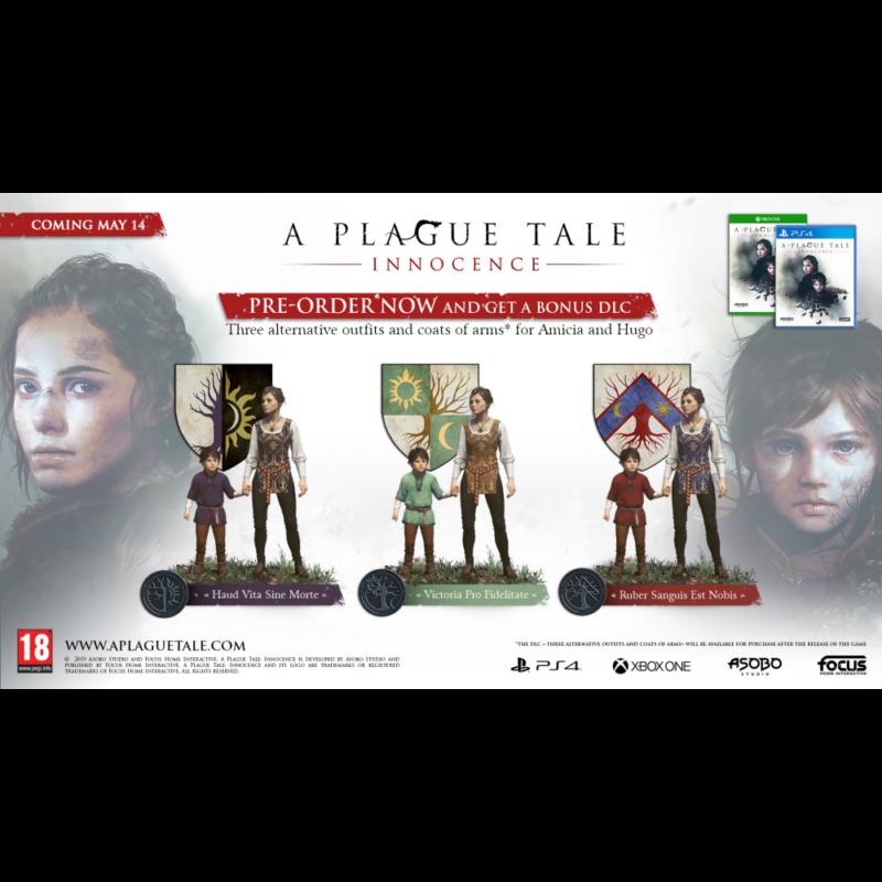A Plague Tale: Innocence (Xbox One)