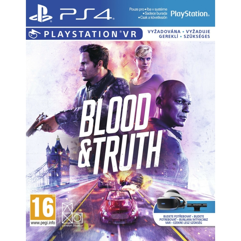 Blood & Truth PS VR (PS4)