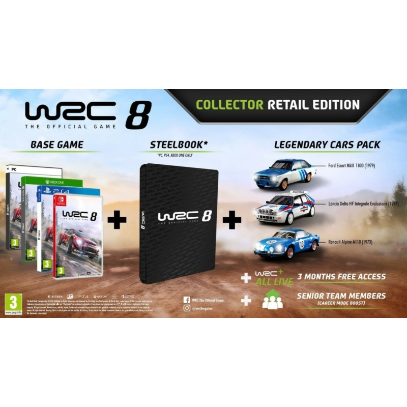 WRC 8 Collector's Edition (PS4)