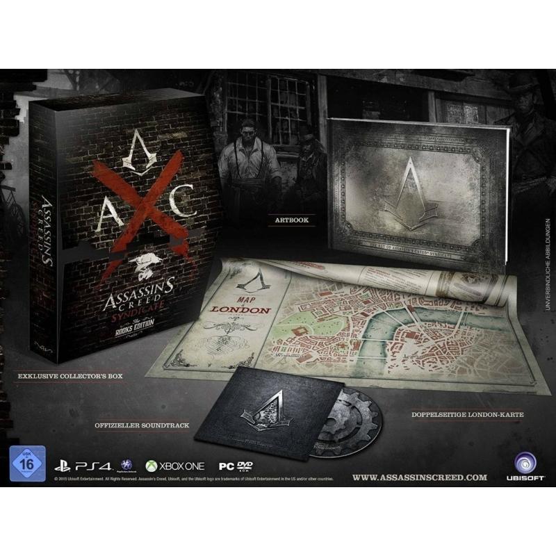 Assassin's Creed Syndicate Rooks Edition + Póló + Poszter (Magyar felirattal)