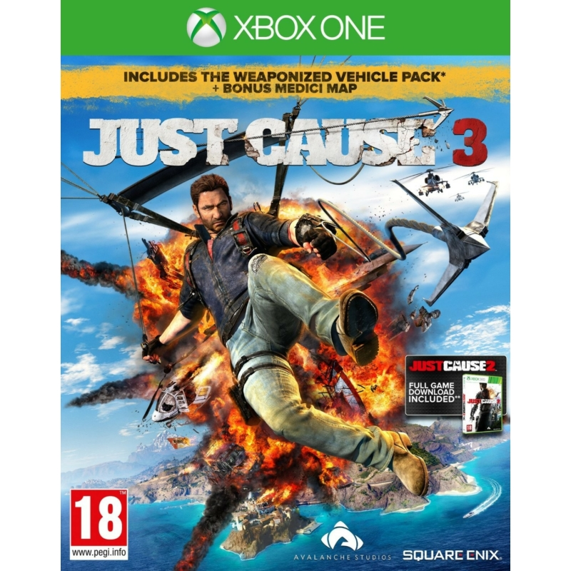 Just Cause 3 Collectors Edition + Utikönyv + Extra digitális tartalom