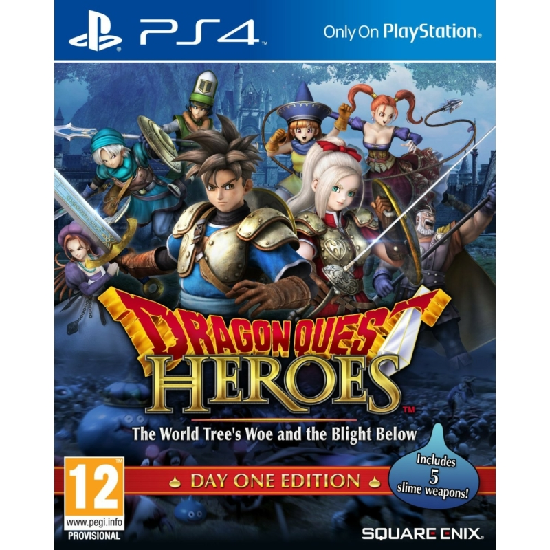Dragon Quest Heroes The World Tree's Woe and the Blight Below - Day One Edition