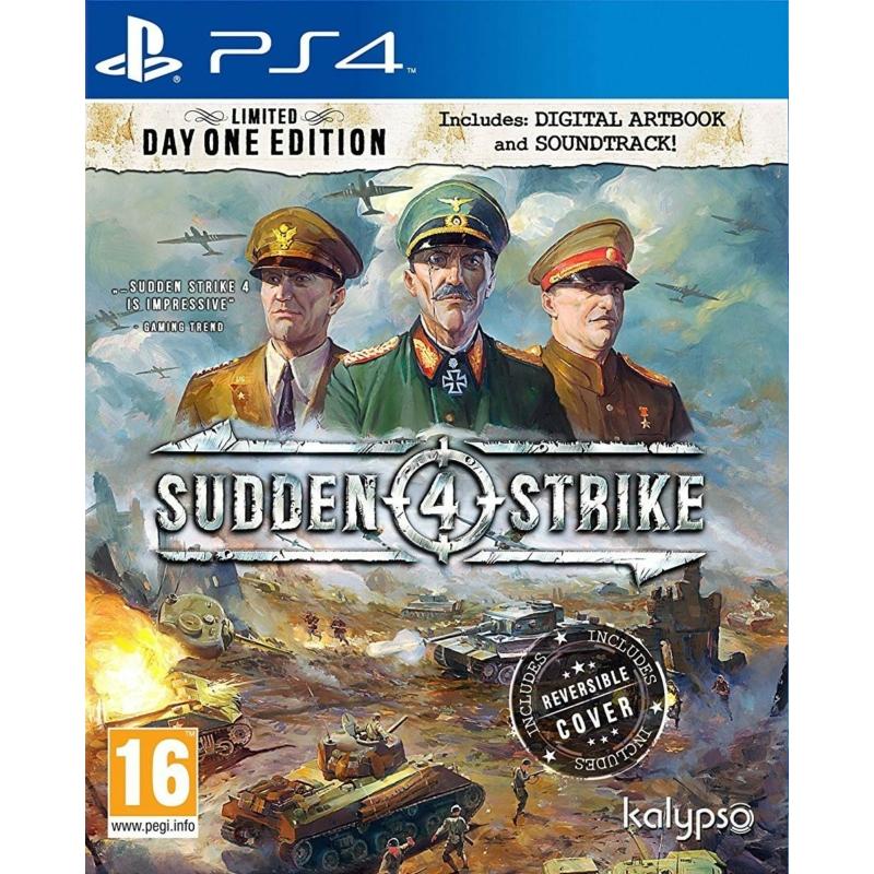 Sudden Strike 4 (PS4) (használt)