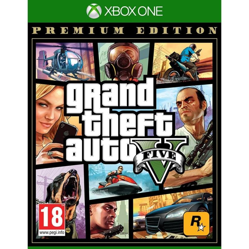 Grand Theft Auto V Premium Edition (Xbox One)