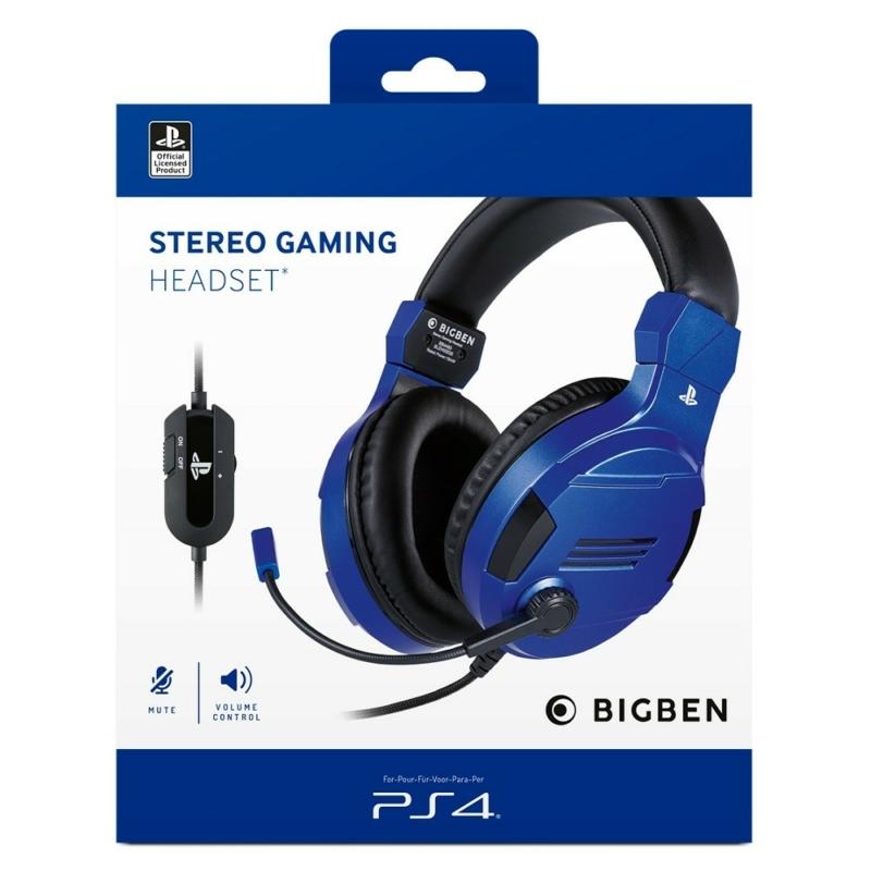 Bigben Stereo Gaming Headset (Kék)