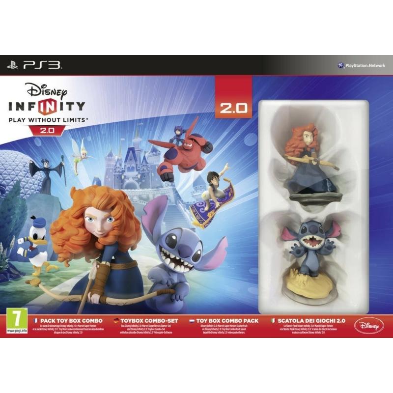 Disney Infinity 2.0 Toy Box Combo Pack
