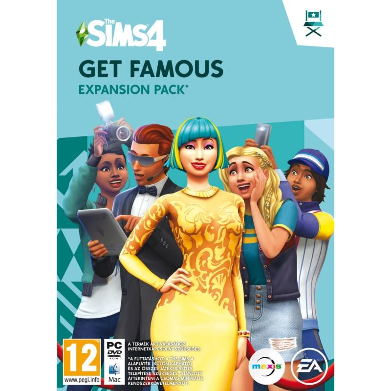 The Sims 4 Get Famous kiegészítő csomag