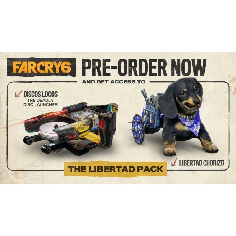 Far Cry 6 (Xbox One) + előrendelői ajándék