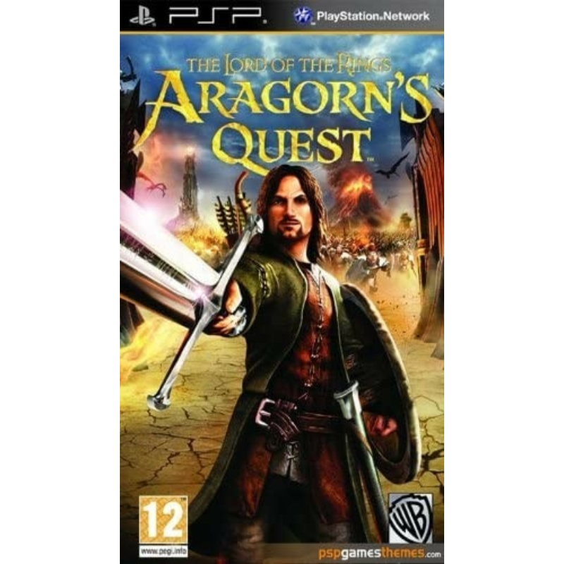 The Lord of The Rings Aragorn's Quest (PSP) (használt)