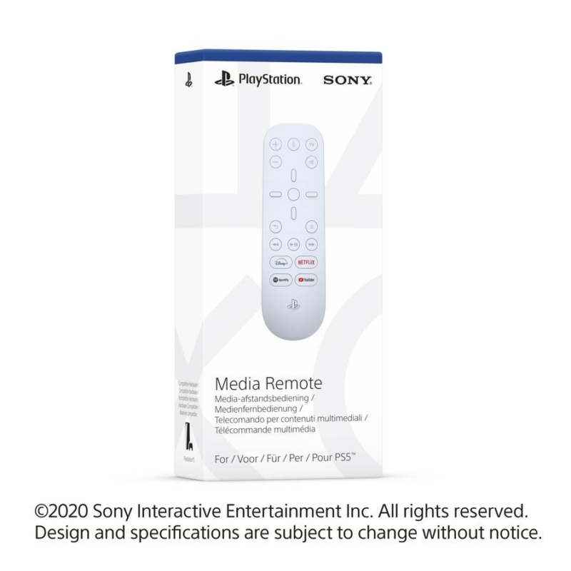 Sony PlayStation®5 Media Remote (PS5)