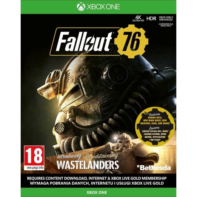 Fallout 76 letöltőkód (Xbox One)