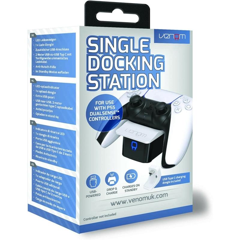 Venom Single DualSense Docking Station White (PS5)