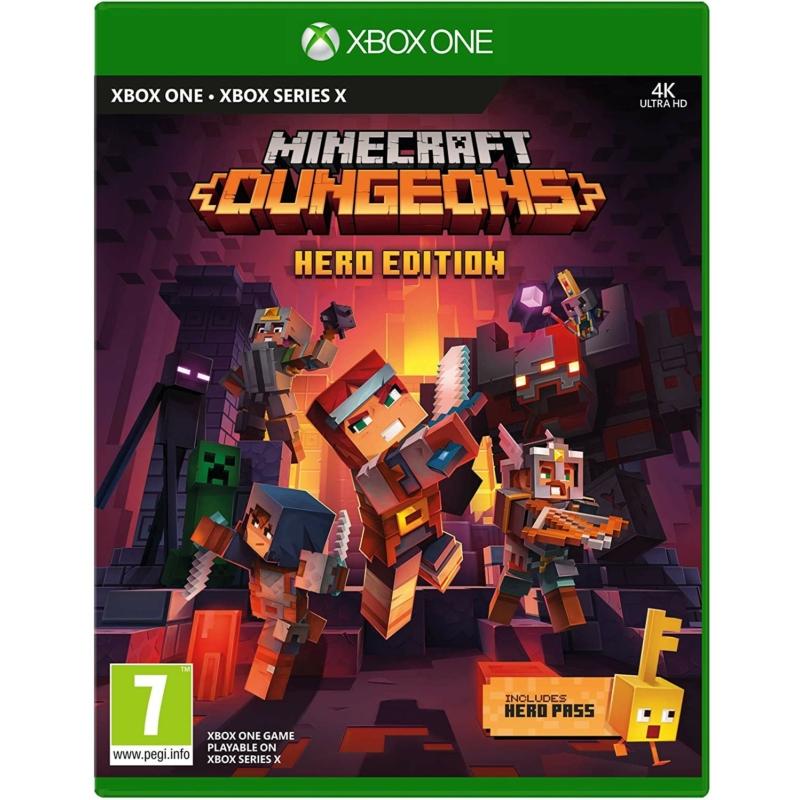 Minecraft Dungeons: Hero Edition (Xbox One)