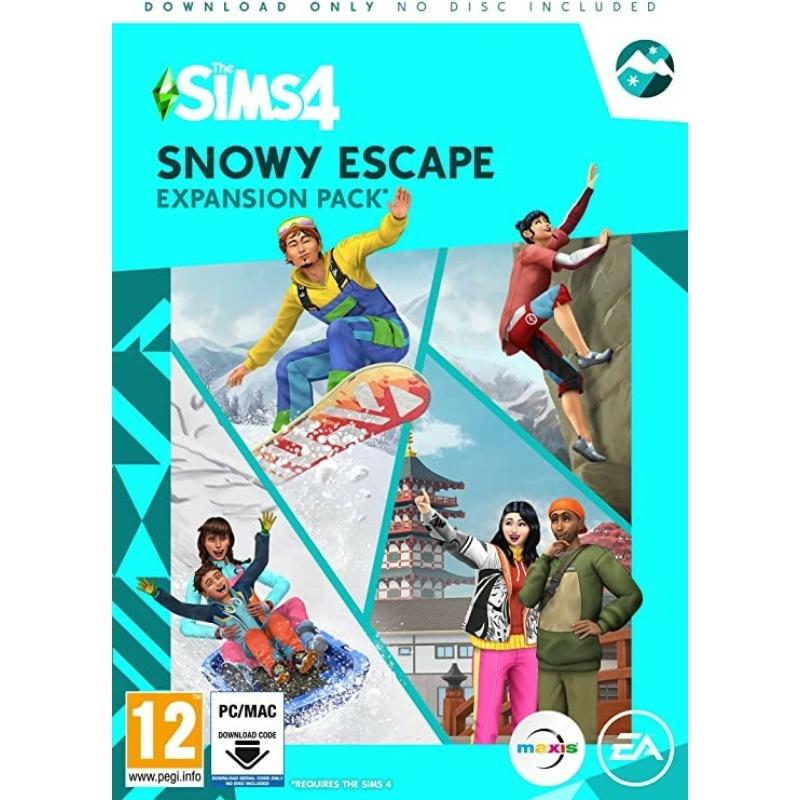 The Sims 4 Snowy Escape kiegészítő csomag