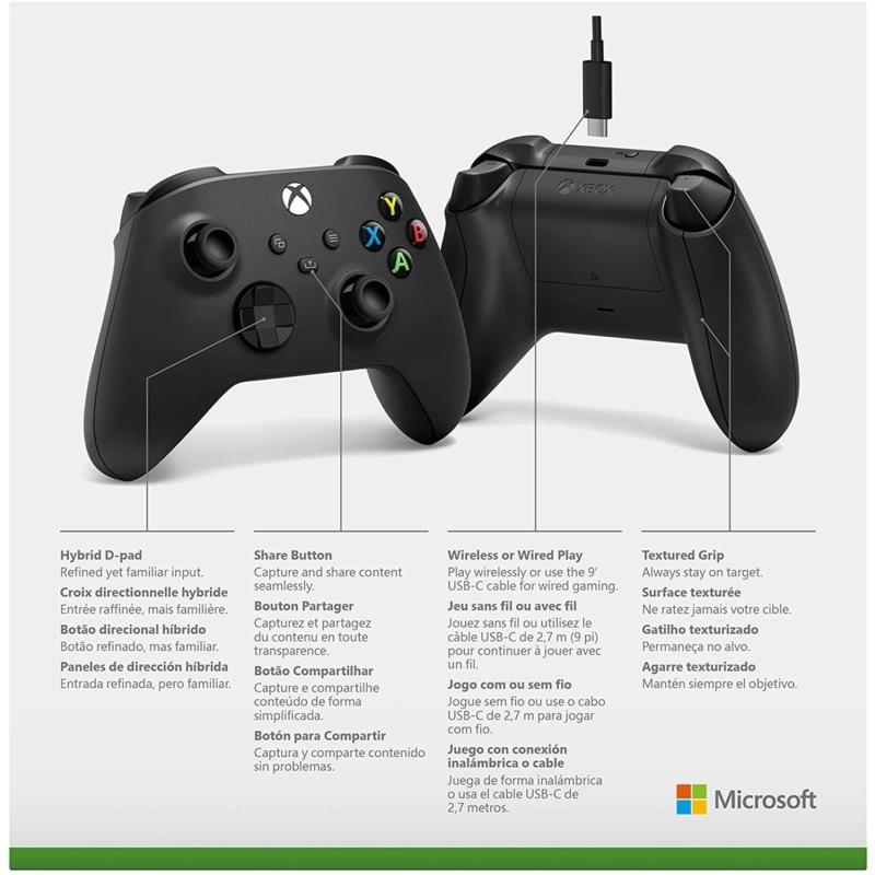 Xbox Wireless Controller + USB-C kábel (Xbox Series)